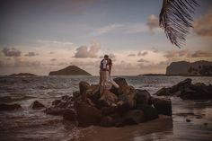 Destination Wedding in St Lucia by Photographer Gabe McClintock - Full Post: http://www.brideswithoutborders.com/inspiration/intimate-beach-wedding-on-st-lucia-by-gabe-mcclintock