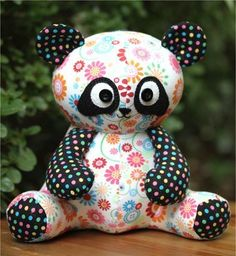 """""""Pookie"""" designed by Melanie McNeice for Melly & Me."""