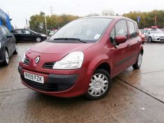 Used 2009 (09 reg) Red Renault Modus 1.2 Expression 5dr [AC] [Euro 4] for sale on RAC Cars