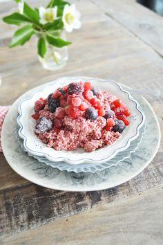 raspberry breakfast quinoa