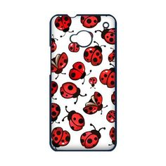 New Cute Lady bugs Ladybugs Print HTC One M7 Case Cover