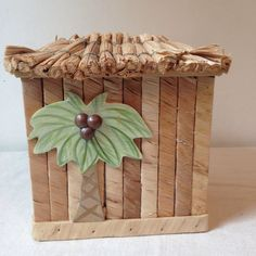 A personal favorite from my Etsy shop https://www.etsy.com/listing/207280698/ultra-cute-tropical-tiki-hut-tissue-box