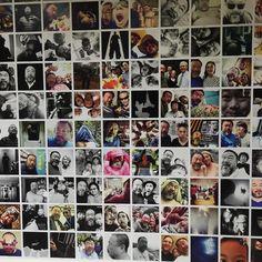 Ai wei wei Selfie Wall