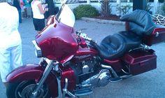 Red harley bike wk sep 2013