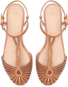 Zara Sandal With Ankle Strap