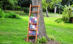 Our rustic wood quilt ladder is the perfect spot for displaying your cozy blankets and quilts. Quilt Ladder, Diy Blanket Ladder, Modern Blankets, Cozy Blankets, Wood Ladder, Ladder Decor, Solid Wood Furniture, Rustic Furniture, Pittsburgh
