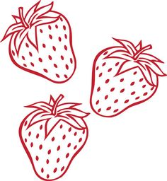 We can't help but love these strawberry wall decals! #pinhonest