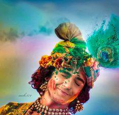 Holi Khelat h nandlal ❤️ Radha Krishna Songs, Radha Krishna Love Quotes, Baby Krishna, Cute Krishna, Lord Krishna Images, Radha Krishna Pictures, Krishna Photos, Krishna Art, Radha Radha