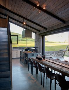 <p>Stable, forge and railway station: the house La Micheline in Wallonia, Belgium is an architectural jem. Recently photographers Anne and Jean-Luc Laloux converted the building and transformed it int