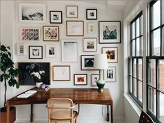 Eclectic Frames, Eclectic Gallery Wall, Gallery Wall Bedroom, Gallery Wall Frames, Bedroom Wall, Eclectic Wall Decor, Gallery Walls, Frame Wall Collage, Frames On Wall