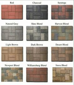 1000 Images About Paving Stone Patterns On Pinterest