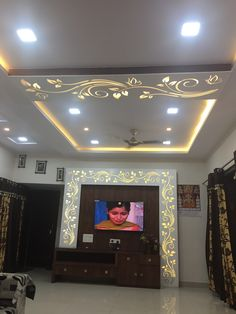 Bedroom Pop Ceiling Designs Images New Stylish Modern Ceiling Design Ideas Pvc Ceiling Design, Ceiling Design Living Room, Bedroom False Ceiling Design, False Ceiling Living Room, Tv Wall Design, Door Design, Lcd Panel Design, Modern Tv Wall Units, Room Partition Designs