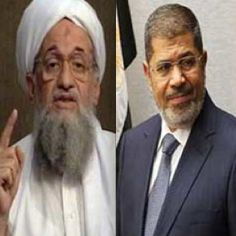 Recorded evidence that these two men collaborated to prevent a Military coup?  What would evidence that Mursi was colluding with al-Qaeda during his tenure as president of Egypt reveal about Barack Obama's support for Egypt's Muslim Brotherhood regime?  October 23, 2013