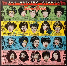 rolling stones some girls album cover - Google Search