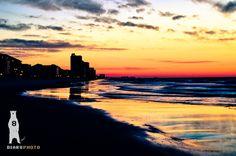 Beach House Art, Ocean Sunrsise, Seaside Photography, Photo Print, Dramatic Sunrise, East Coast, South Carolina Coast, Garden City Beach by Bear8Photo on Etsy