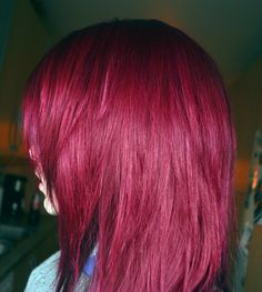 magenta hair ♥