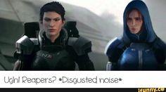 ME/DA crossover - Cassandra as Shepard, Leliana as Williams