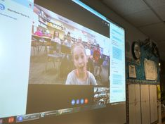 Bedley's class Skypes with Todd Flory's fourth-graders at Calamus Wheatland Elementary School in Calamus, Iowa.