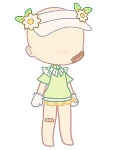 Anime Girl Drawings, Kawaii Drawings, Cute Drawings, Cute Doodle Art, Cute Art, Skin Color Palette, Youtube Design, Rainbow Face, Club Hairstyles
