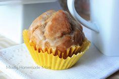 Mostly Homemade Mom: Glazed Doughnut Muffins