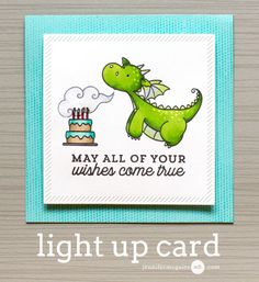 Light Up Card Video by Jennifer McGuire Ink. I had wanted to try out the Chibitronics Chibi Lights LED Circuit Starter Kit and I am so glad I did. It is so easy to use!
