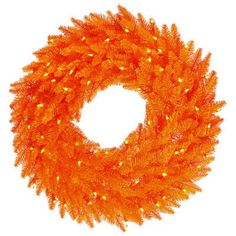 "Vickerman 36"" Artificial Firl Halloween Wreath"