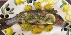 fischi`s cooking and more....: kräuterforelle