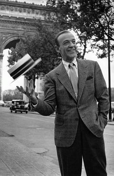 Astaire buttoned-down & care free in Paris