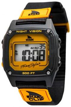Freestyle Shark Clip Watch - Orange / Black