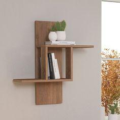 Reclaimed Wood Floating Shelf Art Deco / Mid Century