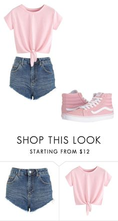 """""""Untitled #366"""" by thenerdyfairy on Polyvore featuring Topshop and Vans"""
