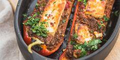 Healthy Summer Recipes, Healthy Breakfast Recipes, Healthy Eating, Clean Eating, Pureed Food Recipes, Veggie Recipes, Vegetarian Recipes, Portobello, Feel Good Food