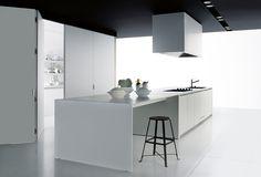 :: KITCHENS :: Gallery Case System 5.0 of Boffi. Designer Piero Lissoni . Year 2002 . Architonic id 1142708 #kitchens #white #boffi