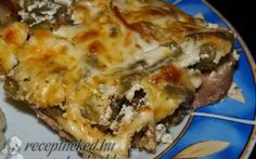 Zöldbabos hús One Pot, Lasagna, Quiche, Mashed Potatoes, Chicken, Dinner, Breakfast, Ethnic Recipes, Food