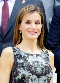 King Felipe and Queen Letizia attend several audiences at La Zarzuela Palace. Madrid, 06.06.2016.