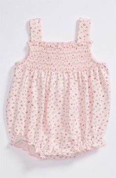 omgg dyinggg this is adorable!  Kissy Kissy Bubble Romper (Infant) | Nordstrom