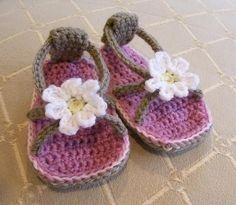 Daisy Baby Flip Flops | Craftsy