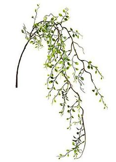 Find artificial hanging greenery to add a cascading accent to your floral centerpieces. This whimsical foliage branch is adorned with mini green fake leaves. Green Long x Wide Leaves, Long x Wide Soft Plastic Wired Stem Check Out All Fake Leaves Diy Wedding Theme, Wedding Flower Decorations, Wedding Flowers, Tall Floor Vases, Silk Flower Arrangements, Floral Centerpieces, Artificial Flowers, Silk Flowers, Greenery