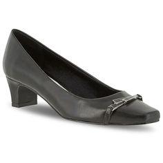 Easy Street Venture Women's Dress Heels, Size: 8.5 N, Black