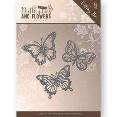 Matrice de coupe Die papillonS Jeanine's Art