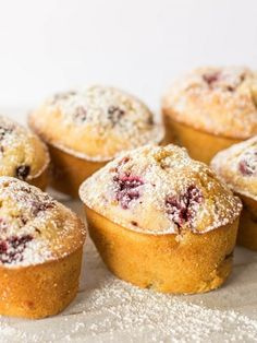 Vegetarian Low FODMAP Recipe and Gluten Free Recipe - Raspberry & Lemon Friands