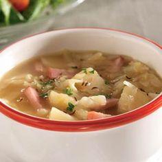 Ham, Potato & Cabbage Soup