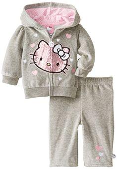 Hello Kitty Baby Baby-Girls Newborn 2 Piece Jacket Set, Med Grey Heather, 0-3 Months Hello Kitty http://www.amazon.com/dp/B00KOO2KA0/ref=cm_sw_r_pi_dp_JL9Bvb1E5HK9M