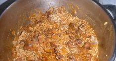 G & M - Χρώμα... Ελληνικό!    Θράψαλα κοκκινιστά με ρύζι στην κατσαρόλα