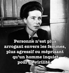The best quotes from Simone de Beauvoir – Education Subjects Best Quotes, Love Quotes, Inspirational Quotes, Old Lady Humor, Quote Citation, French Quotes, Poster S, Positive Attitude, Positive Life
