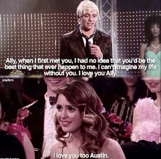 Spoilers for a new Austin & Ally episode. OH MY GOSH THEY ARE SO CUTE TOGETHER I AM LITERALLY DYING OVER HERE FROM THE FEELS!!! I CANT BREATH!!!!!