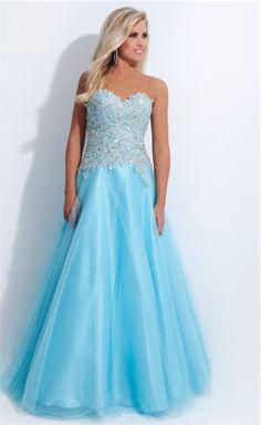 Limited Edition Tony Bowls NP801 available in sky blue #prom #formal #skyblue #promdress #limitededition