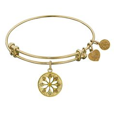 "Angelica ""Daisy Flower"" Bangle Bracelet"
