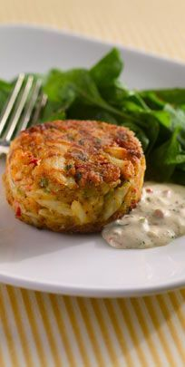 MR.B's Famous New Orleans Style Crab Cakes - Just looking at these makes my mouth water.