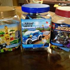 Lego Storage Ideas - DIY Bottle